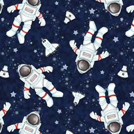 HG - Astronauts in Space - 1800-77 Navy