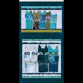 Clothworks - LAUREL BURCH - Feline Frolic - Y2794-105M