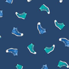 Clothworks - Groovy Girls -  Shoes Y2612-89