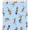 Clothworks - Groovy Girls - Girls Y2611-87 BLUE