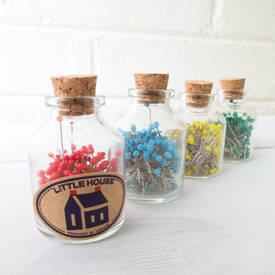 Little House Pins in a Jar