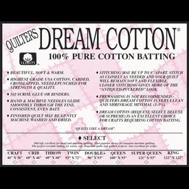 QD Batting - Select - Queen (93x108)