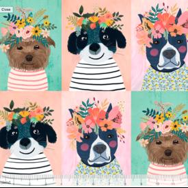Mia Charro - Floral Puppy Multi / 129.101.01.1