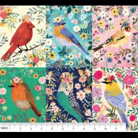 Mia Charro -  Birdie Panel Multi / 129.103.01.1