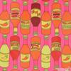 Alexander Henry - Hot Sauce / Pink (AH-6)
