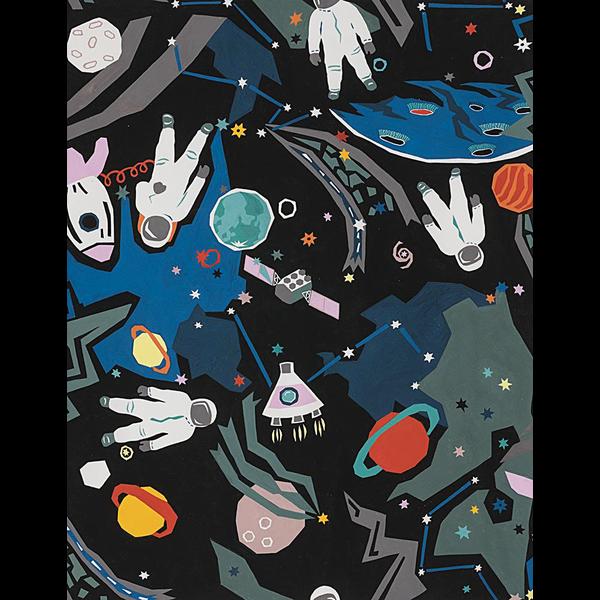 Alexander Henry - Space / Black (AH-4)