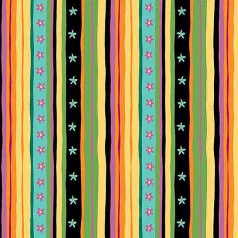 Henry Glass - Spring Awakens / Multi Stripe /1513-94
