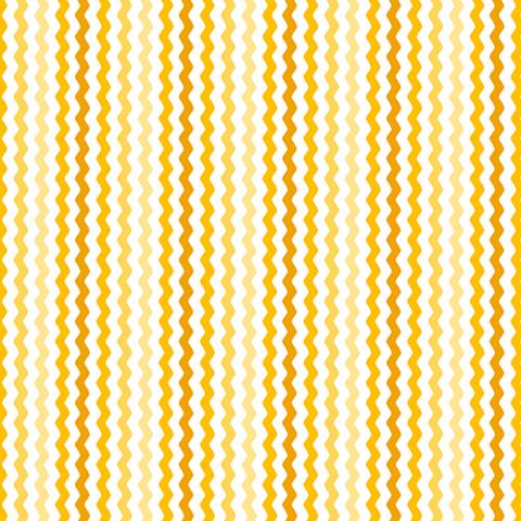 QT - Sorbet Essentials / Rick Rac / Yellow / 23689-SZ