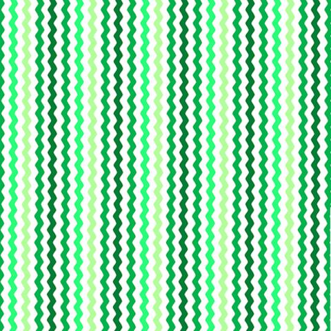 QT - Sorbet Essentials / Rick Rac / Green / 23689-G