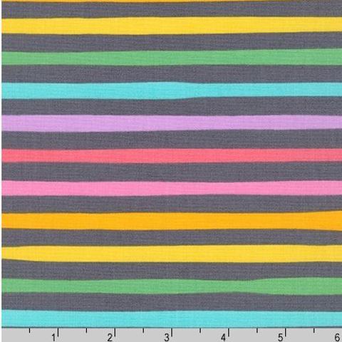 RK - Magical Rainbows & Unicorns / Stripe - Charcoal