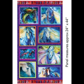 Marcia Baldwin - Painted Horses Panel / 6661-99