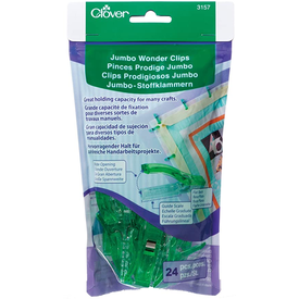 Clover - Large Wonder Clips (12pc)