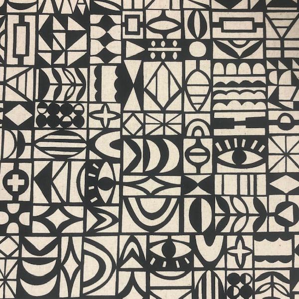 Japanese Canvas / Kokka / Ellen Baker / Paper / JLF-18