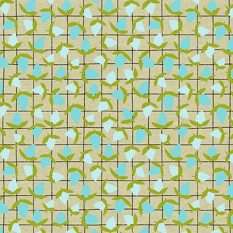 Linen / Sarah Golden / Tiger Plant / Minty Fresh /ALN-8645-T