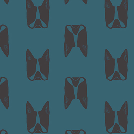 Linen / Sarah Golden / Maker / Teal Frenchie / ALN-8455-B