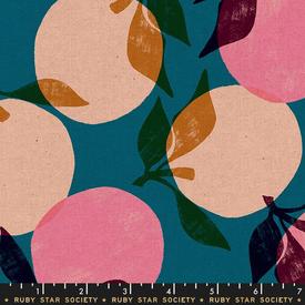 Canvas-Linen / Ruby Star / Peaches / Teal / RS 5022 16L
