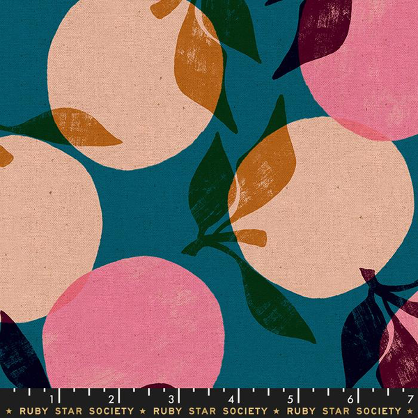 Canvas-Linen / Ruby Star / Peaches / Teal / RS 5022 16L