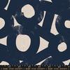 Canvas-Linen / Ruby Star / Navy / River Rocks / RS5026-14L