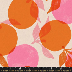 Canvas-Linen / Ruby Star / Peaches / Orange /  RS 5022 11L