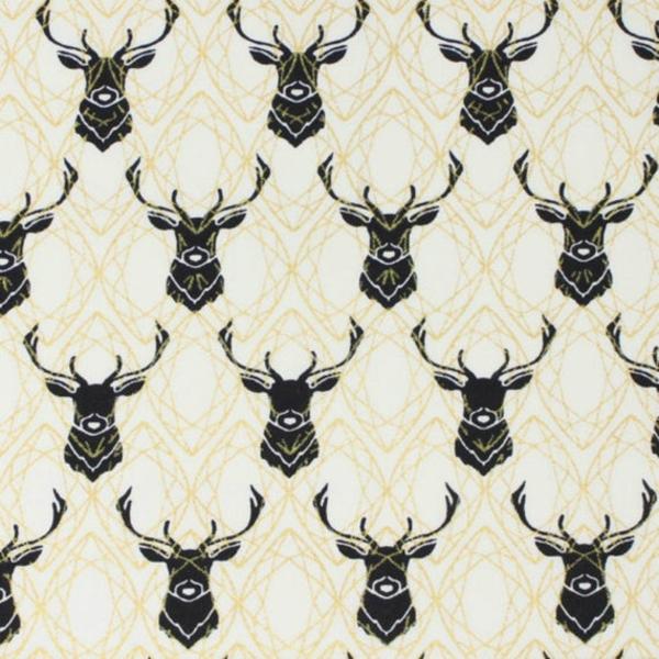 Organic - Birch / Inkwell / Metallic / Elk