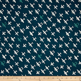 Organic - Birch / Trans Pacific / Planes Blue