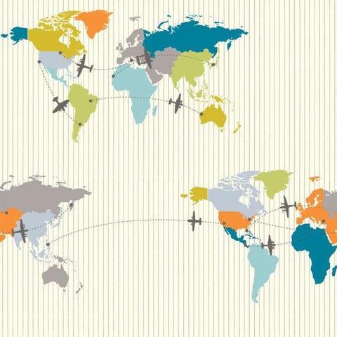 Organic - Birch / Trans Pacific / Map