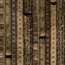 Tim Holtz - Tape Measures - Neutral / PWTH060.8NEUT