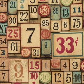 Tim Holtz - Game Pieces / Multi / PWTH012
