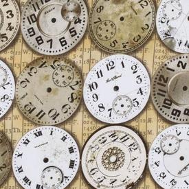 Tim Holtz - Time Pieces / Clocks / PWTH003