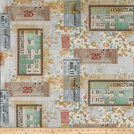 Tim Holtz -Memoranda Multi Tickets