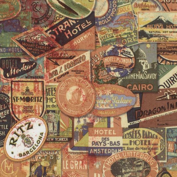 Tim Holtz -Travel Labels / PWTH009.NEUTR