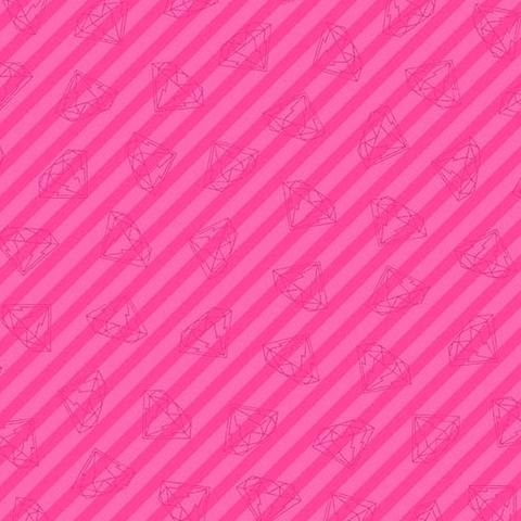 Libs Elliot - Tattooed - Gem - Diamond  / Pink Metallic