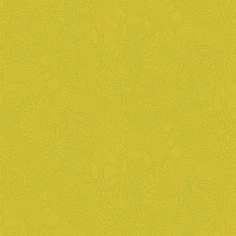 Alison Glass - Seventy Six / 76 / Stitched / Acid Green / 8450-V