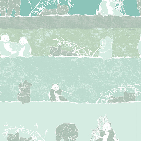 Art Gallery - Pandalicious / Panda Says Yum / 10127
