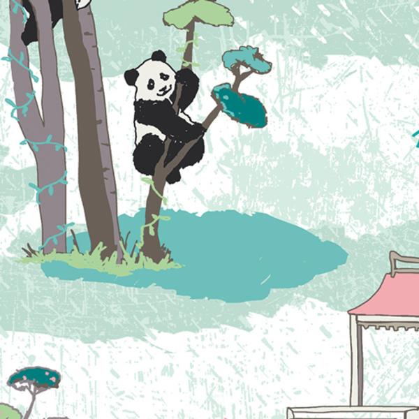 Art Gallery - Pandalicious / Panda Recess / 10130