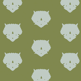 Art Gallery - Esoterra - 86507-Triceratops-Olive
