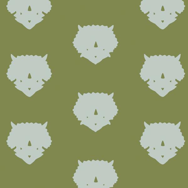 Art Gallery - Esoterra - 86507-Triceratops-Olive