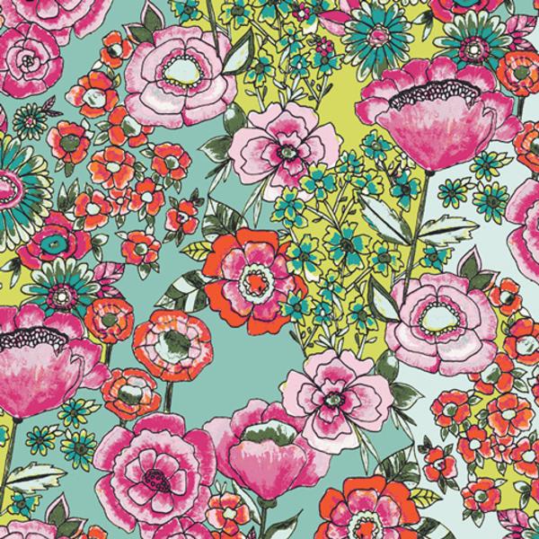 Art Gallery - Wild Blooms / 12030-Flower-Shower-Intense