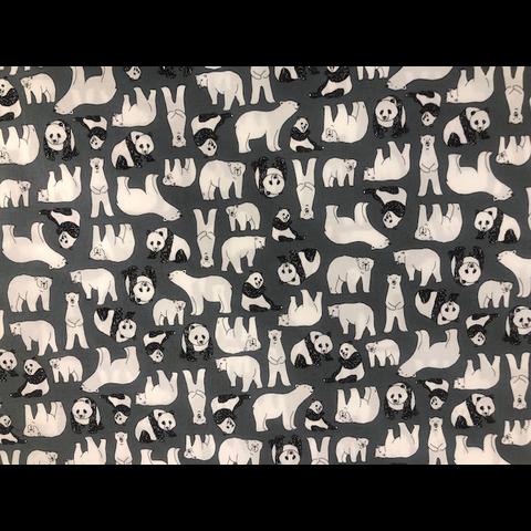 Sevenberry - Panda and Bears Galore / Gray
