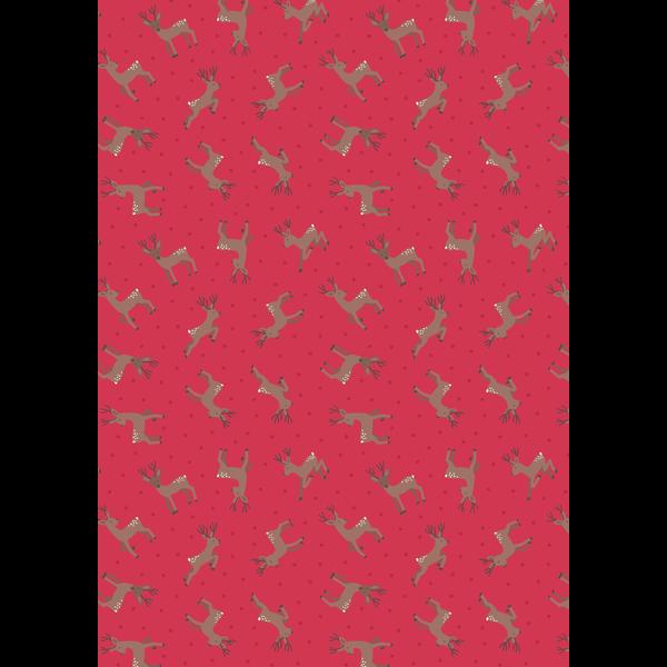 Lewis & Irene - Deer / Red / ASM11.3