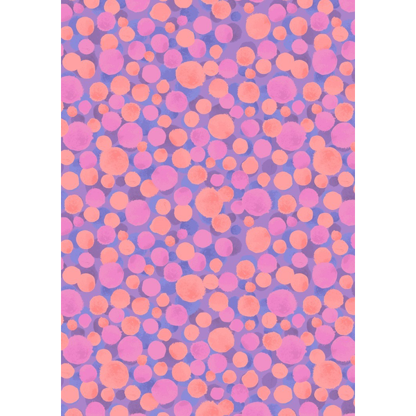 Lewis & Irene - Bumbleberries / BB146 - Multi / pink & purples