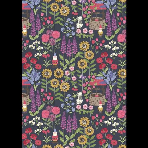Lewis & Irene - Grandma's Garden / Garden / Dark Grey / A195.3