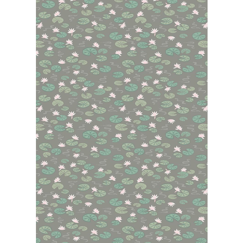 Lewis & Irene - Down By The River / Lilly Pads / Grey / A223.3