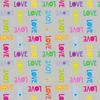 Clothworks - Shine Bright / Love / Grey / 2761 118