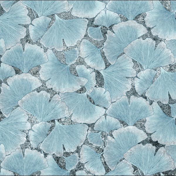 Northcott - Stonehenge / Haiku / Ginko Leaf / Cluster / DP22928-96