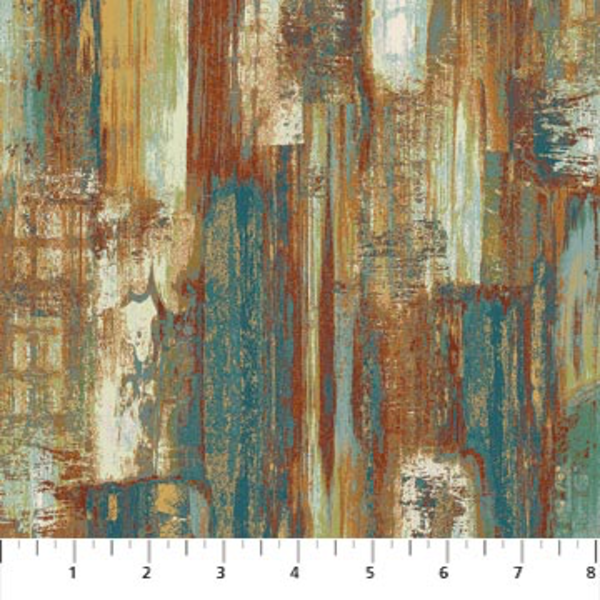 Northcott - Harbor Reflections / Abstract Brush / Rust / 22950-66