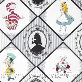 Camelot Disney -  Alice in Wonderland / Always Curious / Grey