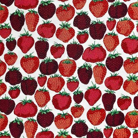 Free Spirit - English Garden / Strawberry Fields / PWSL056.CREAM