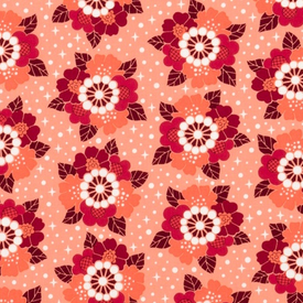 Elizabeth Hartman - Rhoda Ruth / Flowers / Petal / Orange & Red