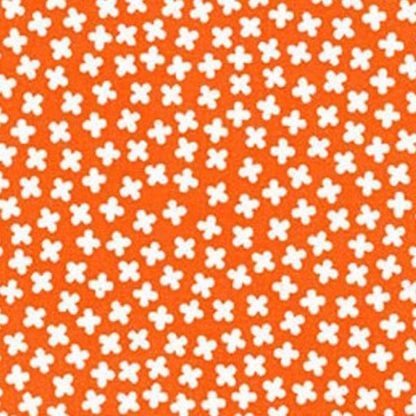 EH / Rhoda Ruth - Clovers /  Orange & White